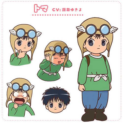 「樱井孝宏」是讨厌肉麻的兜档布小精灵、今年夏天新动画《咕噜咕噜魔法阵》公布第3批声优!