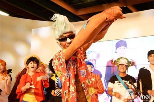 【漫博2017】日本最大Cosplay专门节目「coscosplayplay」移师到漫博录影,现场聚满航海王Coser与粉丝们同欢!