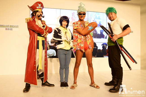 """【漫博2017】日本最大Cosplay专门节目""""coscosplayplay""""移师到漫博录影,现场聚满航海王Coser与粉丝们同欢!-绝对领域"""