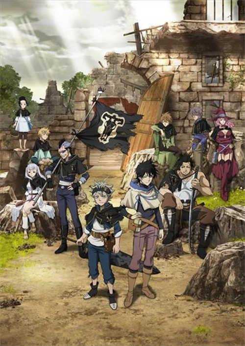 想要成为魔法帝的少年-热门漫画改编十月新番『黑色五叶草』PV公布