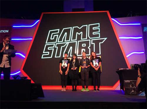 MIT独立游戏团队 远征新加坡GameStart 2017 台湾独立团队获奖: IMGA SEA最佳美术奖、最具意义游戏-绝对领域
