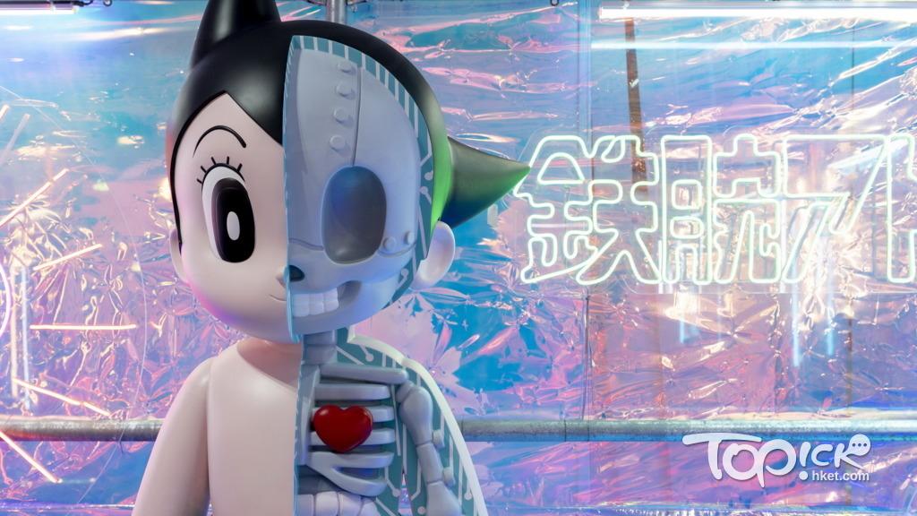 【动漫艺术展】K11 Musea艺术空间举行Art Toys展览 2米高XXARY小飞侠阿童木成打卡点-绝对领域